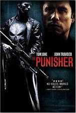 PUNISHER DVD 2004 JOHN TRAVOLTA NEVER WATCHED NEW