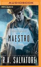 Legend of Drizzt Homecoming: Maestro 2 by R. A. Salvatore (2016, MP3 CD,...