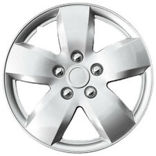 "1 Piece of 16"" Inch Silver Hub Caps Full Lug Skin Rim Cover for OEM Steel Wheels"