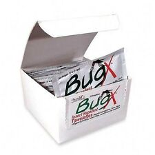 BUGX 30 Insect Repellent with DEET (30%) , 1 Box of  25 Wipes,  Coretex