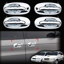 Chrome Door Handle Catch Molding Trim Cover for 98-05 Sedona Carnival-8pcs