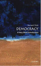 .A Very Short Introduction.Democracy by Sir Bernard Crick(Paperback,2002)