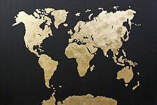 Weltkarte ABSTRAKTE BILDER ART PICTURE ACRYL GEMÄLDE MALEREI VON MICHA ;)