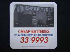 CHEAP TYRES CHEAP BATTERIES 26 ALEXANDERS RD MORWELL 339993 COASTER