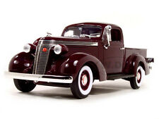 1937 STUDEBAKER PICK UP EXPRESS BURGUNDY 1/18 BY ROAD SIGNATURE 92458