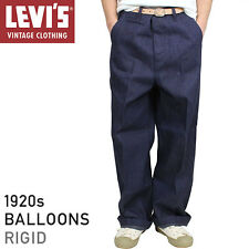 Levi's Vintage LVC Blue Raw Rigid 1920 Balloon Jeans Button Fly W28 RRP £225 New