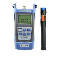 Fiber Optical Power Meter + 10mW 10km Visual Fault Locator Cable Tester  XG