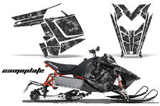 AMR Racing Sled Wrap Polaris Pro RMK Rush Snowmobile Graphics Kit 11-14 CAMO PLT