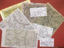 1/6 Dragon Did Wehrmacht Generalstab Kartensatz Karten Russland Gebirgsjäger