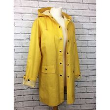 Fishermans Yellow Mac Raincoat Jacket Coat - Festival/Outdoors - UK 8 10 12 14
