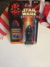"Star Wars Episode 1 CommTech Darth Sidious 4"" Action Figure Collection 2"