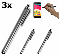 3x Touch Pen Eingabestift Display Stift Wiko Highway Star Pure 4G Signs Wax Pulp