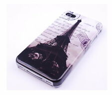 Schutzhülle f Apple iPhone 4S 4 Case Tasche Eiffelturm Paris Cover Etui City
