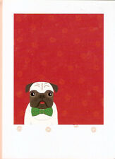 Pug in a Bowtie Christmas Cards Box of 8 Made in USA
