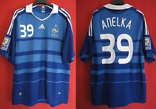 Maillot Adidas Equipe de France Vintage rétro Anelka FIFA South Africa - XL