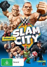 WWE: Slam City (Episodes 1 - 26) DVD NEW