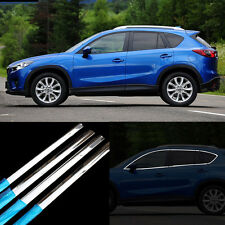 14pcs New Stainless Steel Door Window Frame Sill Molding Trim For Mazda CX-5