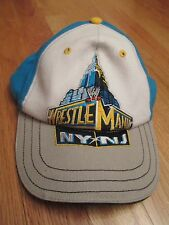 "2013 ""Wrestle Mania NY / NJ"" (Adjustable Velcro) Cap THE ROCK JOHN CENA"