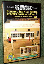 """20026 MODEL RAILROAD VIDEO DVD """"BUILDING THE RGS #6"""" NEW MEXICO LUMBER"""