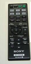 * nuevo * Original Sony Rm-adu101 / rmadu101 Hifi Control Remoto