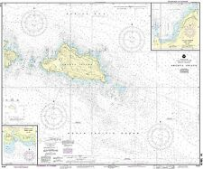 NOAA Chart Shemya Island; Alcan Harbor; Skoot Cove 10th Edition 16436