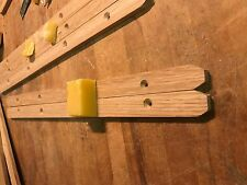 NEW ENGLISH OAK STAG MINSTREL DRAWER RUNNER set with FREE beeswax !
