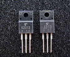 5x 2SJ313 and 5x 2SK2013 TOSHIBA Audio Power MOS-FET, MOSFET