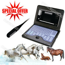 CE Approved,VET Veterinary LAPTOP Ultrasound scanner machine+7.5Mhz Rectal Probe