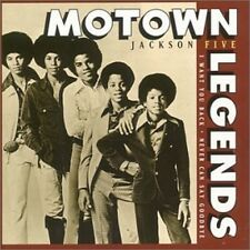 Jackson Five Motown Legends CD NEW Michael I Want You Back/Never Can Say Goodbye