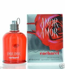 Amor Amor by Cacharel Eau De Toilette 3.4 OZ  for Women NEW