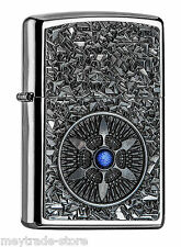 ZIPPO The Blue Wheel - awesome emblem lighter and brand new collectible