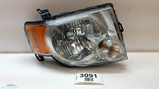 08-12 FORD ESCAPE FRONT RIGHT PASSENGER SIDE HEADLIGHT LAMP ASSEMBLY OEM