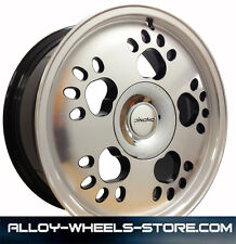 "16"" VW UP ALLOY WHEELS  4 STUD BLACK DIAMOND 4X100 (11 ONWARDS)"