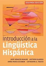 Introduccion a la Linguistica Hispanica - Hualde, Jose Ignacio/ Olarrea, Antxon/