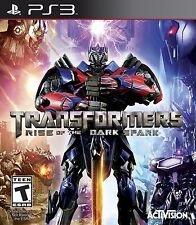 PLAYSTATION 3 PS3 GAME TRANSFORMERS RISE OF THE DARK SPARK BRAND NEW & SEALED