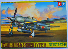 1/48 TAMIYA KAWANISHI N1K1-Ja SHIDEN TYPE 11 MODEL KIT #61038