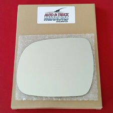 NEW Mirror Glass + ADHESIVE 04-10 TOYOTA SIENNA Driver Left Side LH *FAST SHIP**