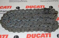 520 DID 520 V6 o-ring motorcycle drive chain 100 links, genuine Ducati factory H