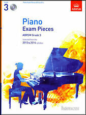 Piano Exam Pieces Grade 3 2013-2014 Syllabus Book CD Sheet Music ABRSM B57