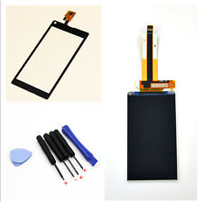 Black Touch Screen Digitizer + LCD Display For Sony Xperia L C2104 C2105 S36h