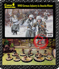 Caesar Miniatures 1/72 German Infantry Wearing Winter Smocks (WWII) # 083