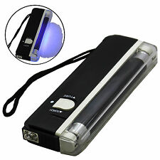 US SELLER ~ Handheld Portable UV Blacklight 6 Inch Flashlight ~ Free Shipping