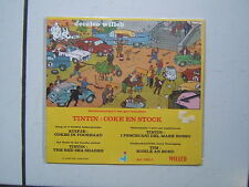 HERGE  TINTIN  /  DECALCO WILLEB / COKE EN STOCK /  1978