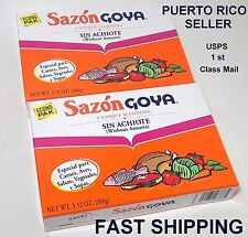 Puerto Rico Sazon GOYA Seasoning Powder Spice Spanish Latin Cooking Food 36pkI