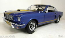 Exact Detail 1/18 Scale Shelby G.T 350H Metallic blue / gold  diecast model car