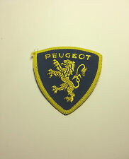 PEUGEOT EMBROIDERED CLOTH BADGE