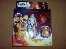 STAR WARS THE FORCE AWAKENS FIRST ORDER FLAMETROOPER ARMOUR UP NEW RARE