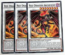 Yugioh HSRD-EN023 3x RED DRAGON ARCHFIEND Common