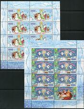 WEISSRUSSLAND 2010 Weihnachten Christmas Kleinbögen ** MNH