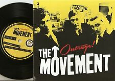 THE MOVEMENT OUTRAGE! EP + INSERT GERMAN 45+PS 2014 MOD REVIVAL SKA THE JAM WHO